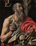 Oil Painting 'Tanzio Da Varallo,The Penitent Saint Jerome,1627-1630', 8 x 10 inch / 20 x 25 cm , on High Definition HD canvas prints is for Gifts And Dining Room, Gym And Powder Room Decoration, home