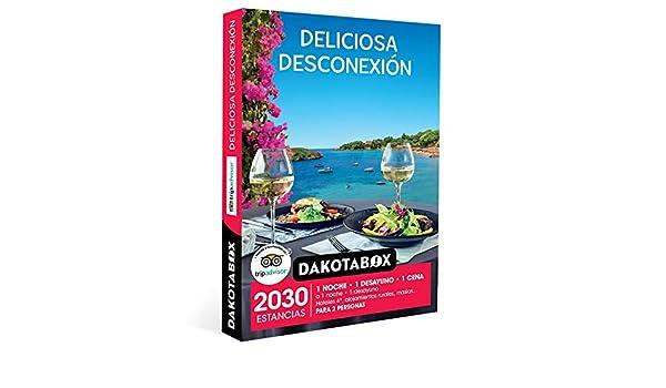 DAKOTABOX - Caja Regalo hombre mujer pareja idea de regalo - Deliciosa desconexión - 2030 estancias en hoteles de hasta 4*, casas rurales, posadas, masías y mucho más ...