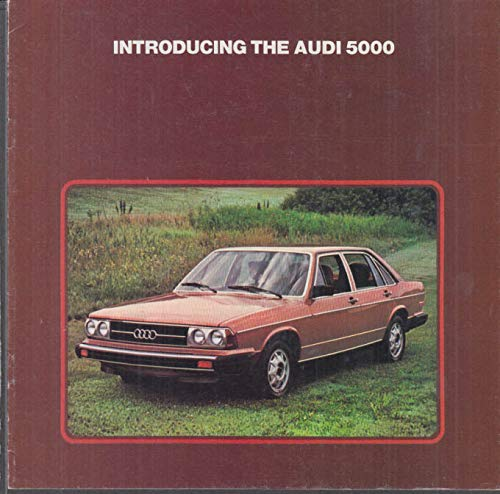 1978 Audi 5000 sales brochure