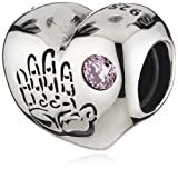 Pandora Baby Girl Charm Bead - 791280PCZ