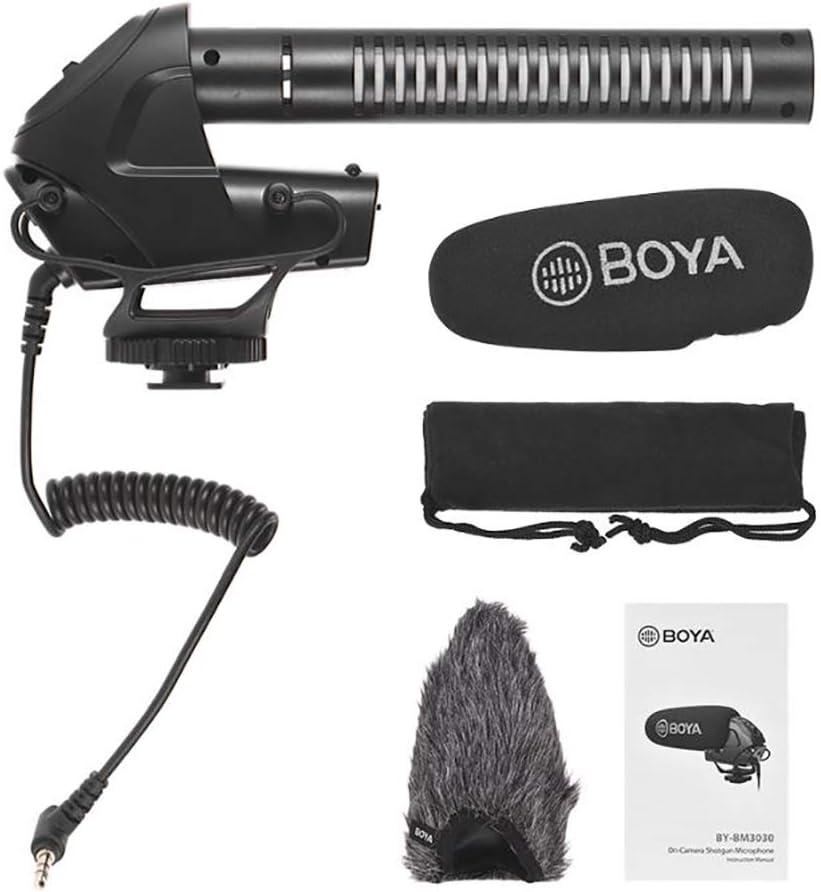 Mikrofon-Kanone f/ür Spiegelreflexkamera Boya
