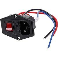 JOYKK Impresora 3D Enchufe Tipo U Interruptor Adaptador