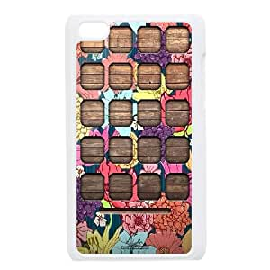 shelf Design Top Quality DIY Hard Case Cover for iPod Touch 4, shelf iPod Touch 4 Phone Case