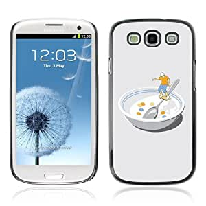 Designer Depo Hard Protection Case for Samsung Galaxy S3 / Skater In Bowl