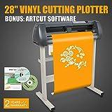 FINCOS 28'' Vinyl Cutting Plotter Pressing Cutter Printer