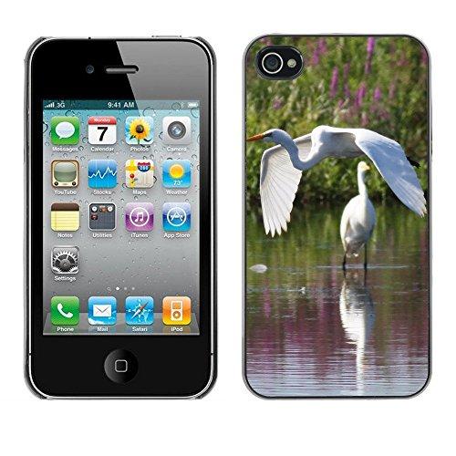 Premio Sottile Slim Cassa Custodia Case Cover Shell // F00002231 en volant // Apple iPhone 4 4S 4G