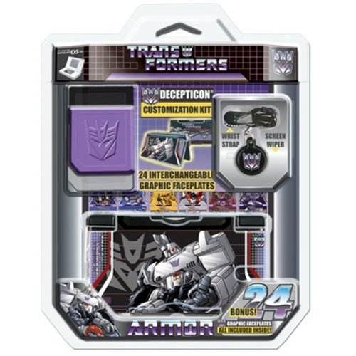 Core Gamer DS Lite Decepticons Travel Kit