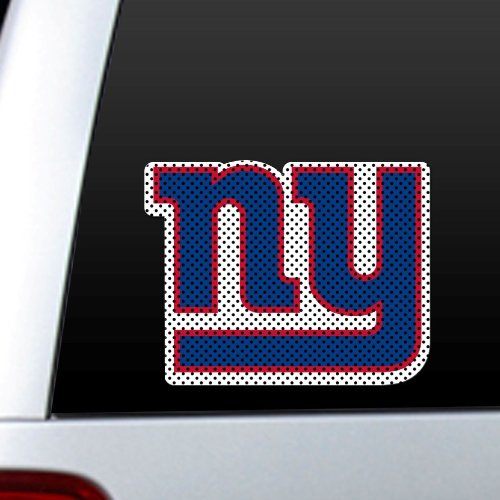 NFL New York Giants Die Cut Window Film