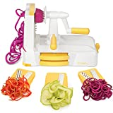 Zestkit Tri-Blade Vegetable Slicer Veggie Cutter Spiralizer - Best Reviews Guide