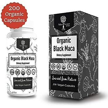 Amazon.com: USDA Organic Vegan Gelatinized Black Maca Root- 3000mg 3x concentrate per Serve-200