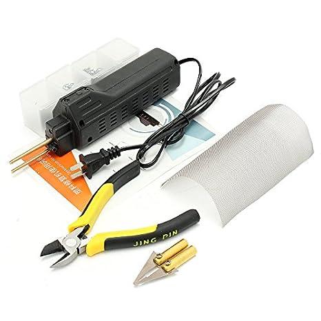Desconocido Kit de reparación de plástico para Soldador de Parachoques AC 220 V: Amazon.es: Coche y moto