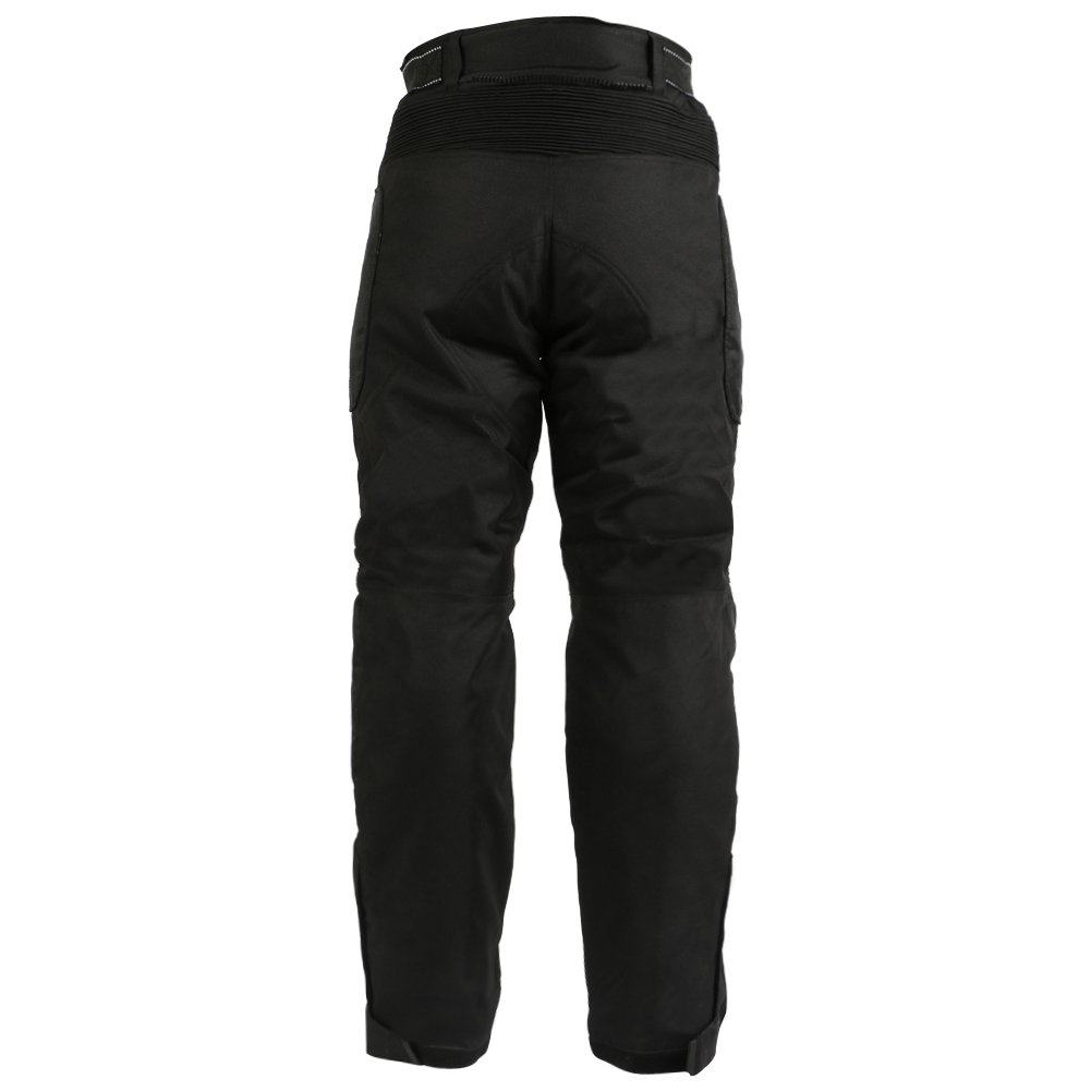 Cordura Waterproof /& Armoured All Sizes Texpeed Womens Black Motorcycle Trousers