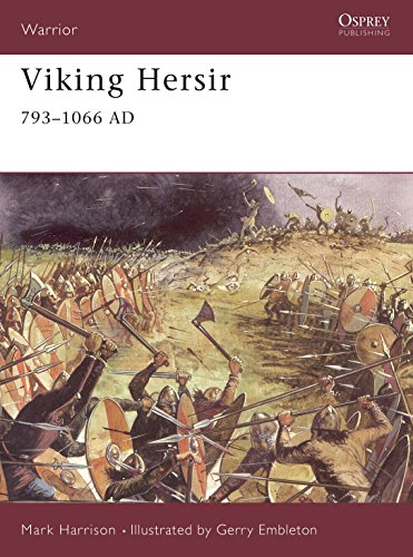 Viking Warriors Weapons (Viking Hersir 793–1066 AD (Warrior))