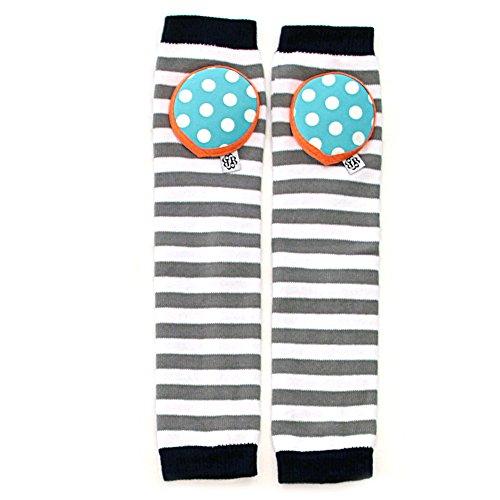 Monster Leg - Bella Tunno Kneepad Legwarmers, Cookie Monster Stripe