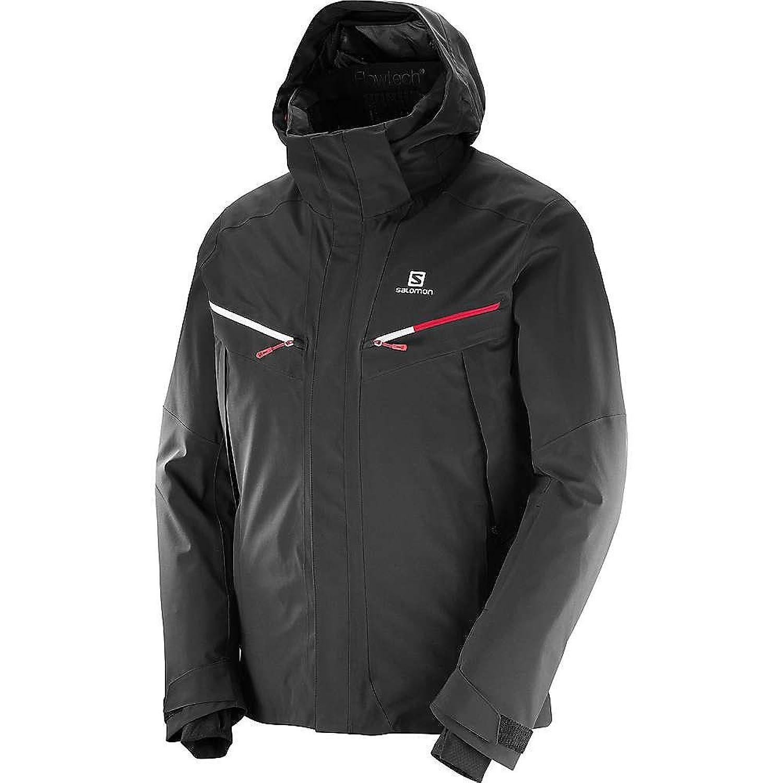 サロモン アウター ジャケットブルゾン Salomon Men's Icecool Jacket Black 121 [並行輸入品] B0761Q4Y6Q Medium