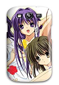Audrill Premium Protective Hard Case For Galaxy S3- Nice Design - Clannad