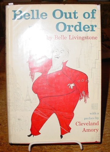 Belle Out Of Order by Belle Livingstone