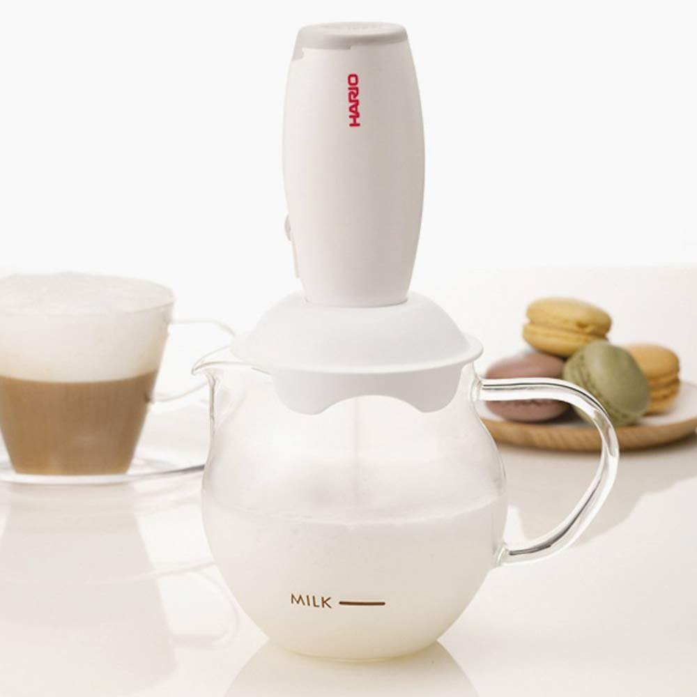 Hario Milk Frother (White) by Hario (Image #3)