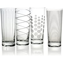 Mikasa Cheers Highball Glass, 19.75-Ounce, Set of 4
