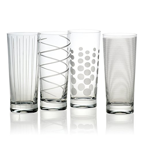 Mikasa Cheers Highball Glass, 19.75-Ounce, Set of - Four Highball Glasses