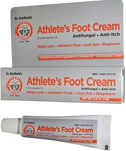 athletes foot cream amazon