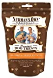 Newman's Own Organics Premium Dog Treats, Salmon and Sweet Potato, 10-Ounce Bags (Pack of 6), My Pet Supplies