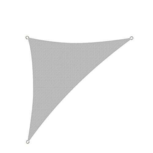 Alion Home HDPE UV Block Curved Edge Sun Shade Sail Permeable Canopy