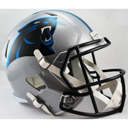 - Riddell NFL Carolina Panthers Replica Speed Full Size Football Helmet