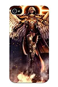 Ellent Design Warhammer Phone Case For Iphone 4/4s Premium Tpu Case For Thanksgiving Day's Gift