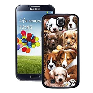 Dogs Pattern 3D Effect Case for Samsung 9500