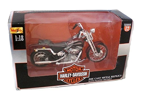Maisto Harley Davidson 2001 FXSTS Springer Softail 1:18 scale die cast Motorcycle Series 12
