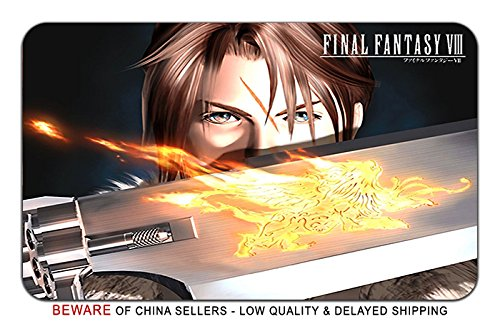 Final Fantasy 8 Video Game Stylish Playmat Mousepad (24 x 14) Inches [MP] FF8-1 (Fantasy Mouse Final)
