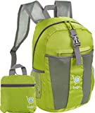 Packable Backpacks for Air Travel Carry On Camping Backpacking Daypacks (GREEN)