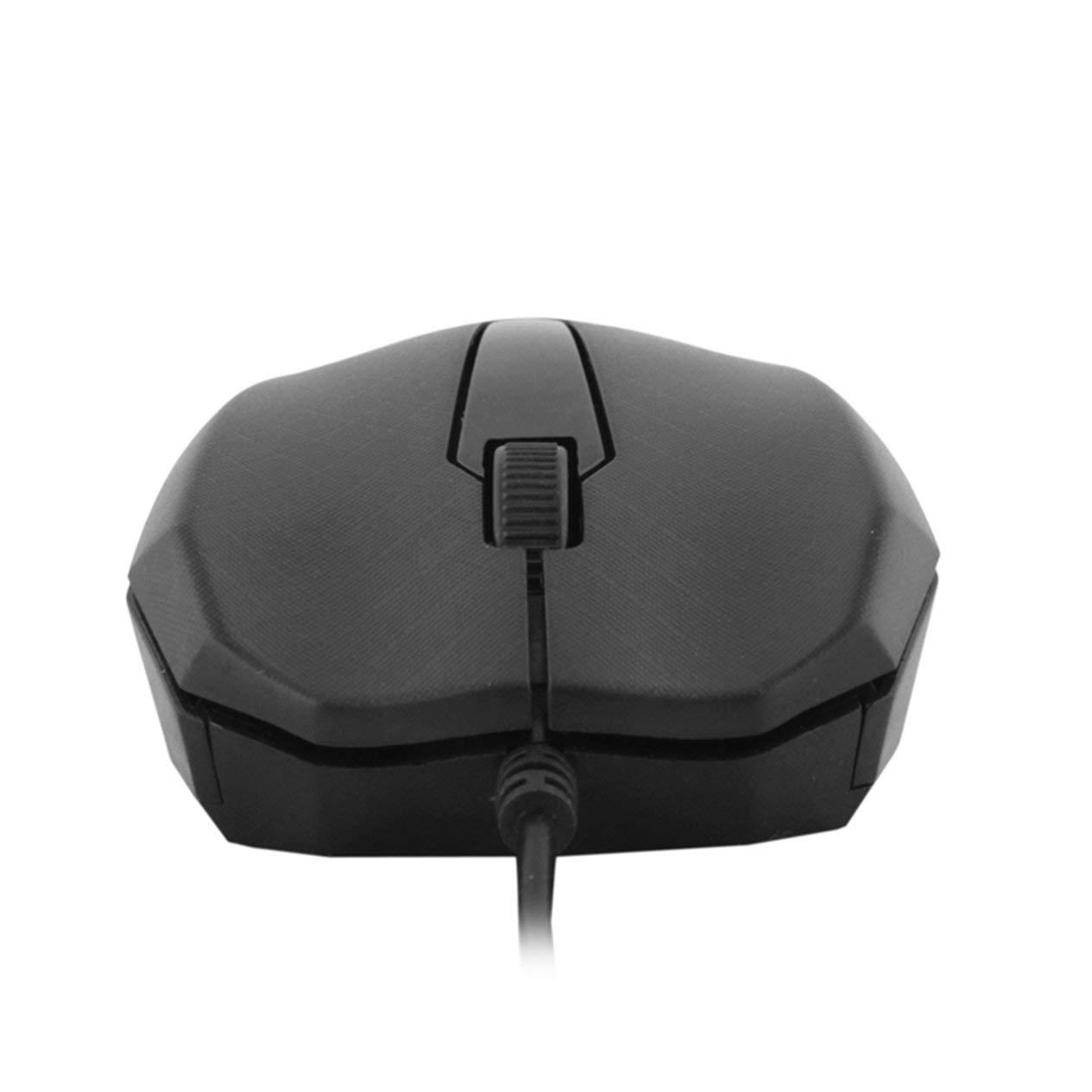 EdBerk74 Nuevo dise/ño Rueda de Desplazamiento 3D 1000 dpi USB con Cable Rat/ón /óptico para Juegos Ratones para PC de Escritorio Port/átil Eletronic Caliente