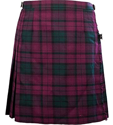 "iLuv Ladies Knee 19"" Length Kilt Lindsay"