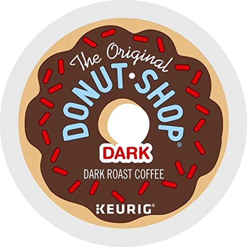 (The Original Donut Shop Keurig Single-Serve K-Cup Pods, Dark Roast Coffee, 72 Count)