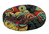 quilting filling - 24 inch Round Stuffed Stool Chair Cushion Pad Thicken Backrest LivebyCare Filled Seat Back Cushions Insert Filling for Play Room Sofa Couch