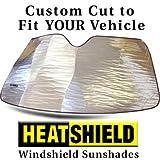 Sunshade for SUBARU FORESTER w/Eyesight Sensor WITHOUT High Beam Asst 2014 2015 2016 2017 Heatshield Windshield Custom-fit Sunshade #1425