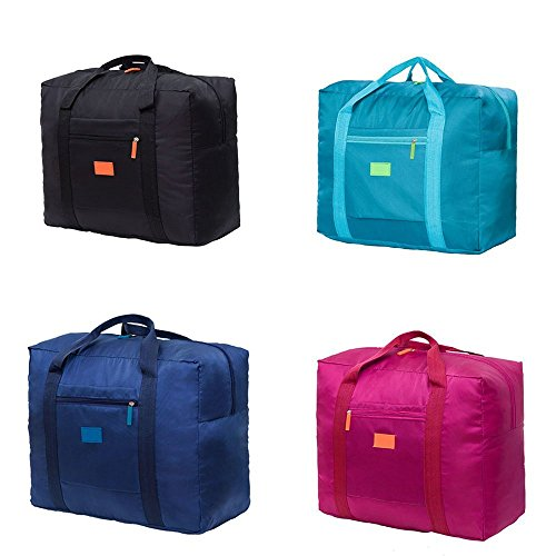b02d239d32 Cestval Folding Luggage Bag Lightweight Portable Hand Baggage Foldable  Travel Tote Duffel Bag Clothing Packing Organizer For Sport Carrying On  Suitcase ...