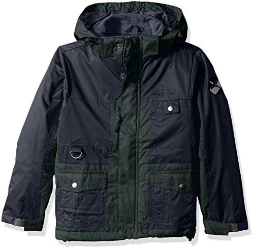 Arctix Boys Edge Insulated Winter Jacket, Medium, Fern Green