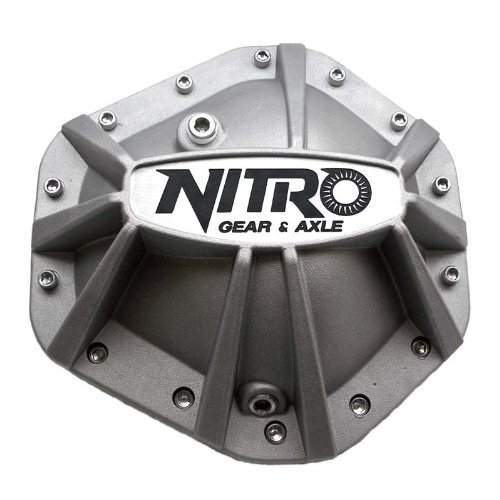 Nitro (NPCOVER-GM14T) Xtreme Aluminum 14-Bolt Differential Cover for GM 10.5'' Differential