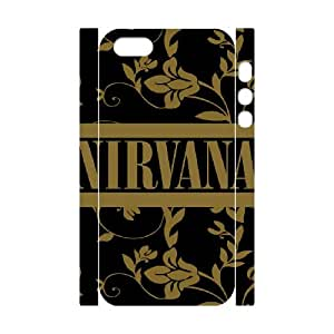 Nirvana Band For iphone 5 5S 3D Custom Cell Phone Case Cover 96II658068