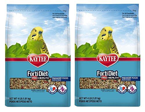 Kaytee Forti-Diet Pro Health Feather Parakeet Food 4lb ()