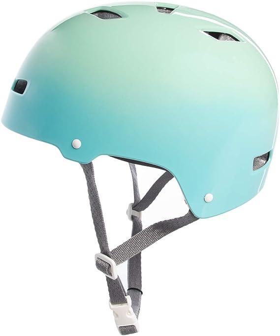 Bell - Casco de bicicleta de montaña para adultos, para deporte, escalada, BMX, acolchado, para hombre y mujer, verde menta (Mint Fade)