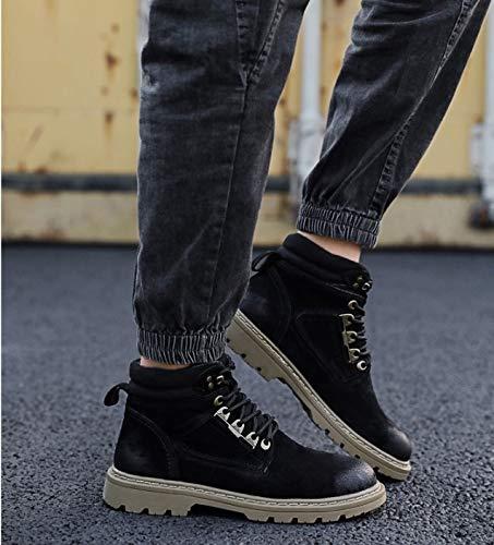 Superiores Martin Y Zapatos Fmwlst Botas Invierno Altas De Para Otoño Hombre Pu qq6Pw