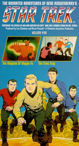 Star Trek - The Animated Series, Vol. 5: The Magicks of Megus-Tu/ The Time Trap [VHS] by Paramount