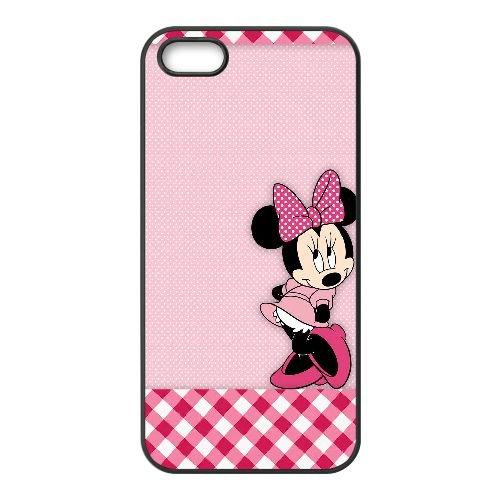 Minnie TJN QB53XU4 coque iPhone 5 5s étui de téléphone cellulaire coque J1QV4Q1UY