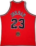 MICHAEL JORDAN Autographed 2009 HOF Patch Bulls Red Authentic Jersey UDA LE 33/123