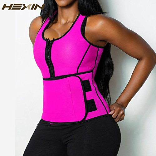 - Digital baby HEXIN Neoprene Sauna Waist Trainer Vest Hot Shaper Summer Workout Shaperwear Slimming Adjustable Sweat Belt Fajas Body Shaper