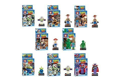 Toy Story 4 Figures 8pcs/lot Building Blocks Sets Model Toys Minifigures Brick Toys New in The Boxes